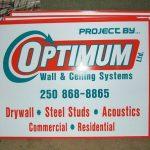 optimum coroplast signs