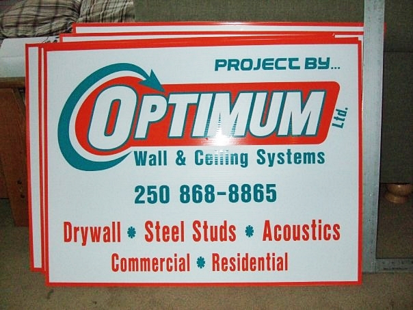 optimum coroplast signs   All Signs Point to Alpha! - Alpha